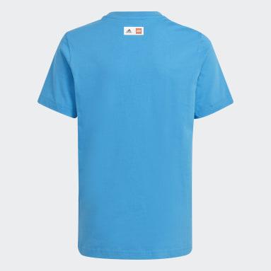 Camiseta Estampada adidas x LEGO® Classic Azul Meninos Training