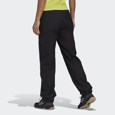 Women TERREX Black Terrex Multi RAIN.RDY Primegreen 2-Layer Rain Pants