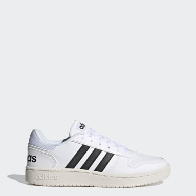 Chaussure Hoops 2.0 Blanc Marche