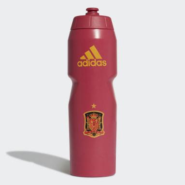 Voetbal Rood Spanje Waterfles