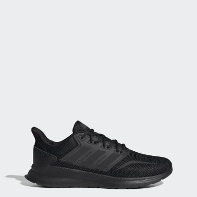 Men Running Black Runfalcon Shoes