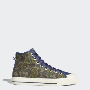 Originals Blue Nizza High RF Shoes