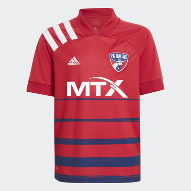 Youth Soccer White FC Dallas 20/21 Home Jersey