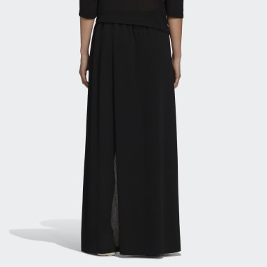 Women Y-3 Black Y-3 CH2 Airy Gauze Skirt