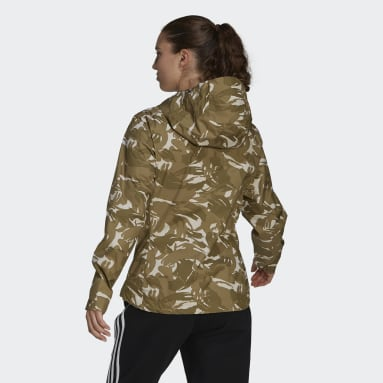 Women's Hiking Green BSC RAIN.RDY Jacket