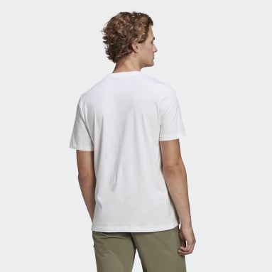 Men TERREX White Travel Graphic T-Shirt