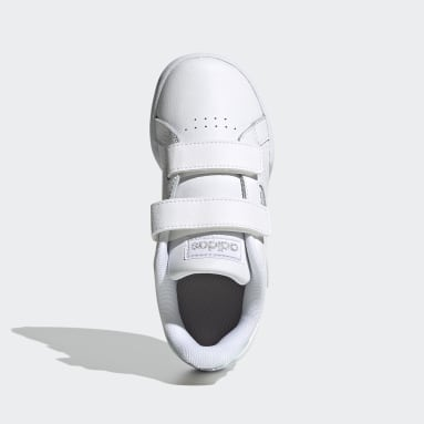 Kids Sport Inspired White Roguera Shoes
