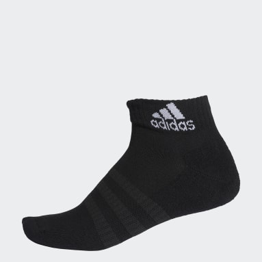 Training Siyah Yastıklamalı Bilek Boy Çorap