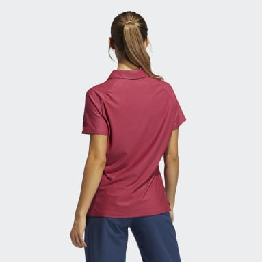Women Golf Pink Go-To Primegreen Polo Shirt