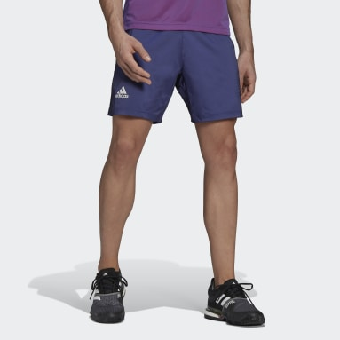 Men Tennis Purple Tennis Primeblue Ergo 7-Inch Shorts
