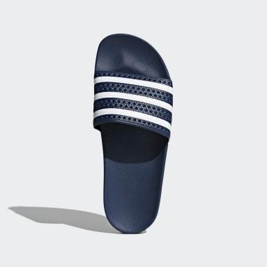 Sandalias adilette Azul Hombre Originals