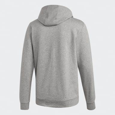 Men Sportswear Grey Camo Linear Sweatshirt