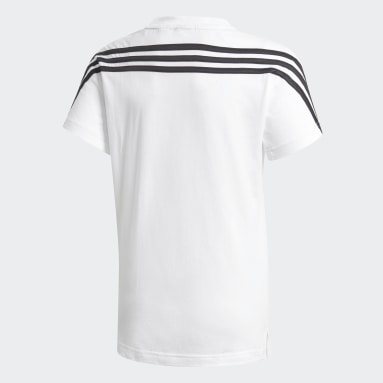 белый Футболка 3-Stripes
