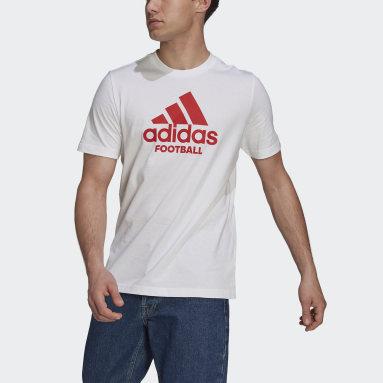 Men Football White Predator Graphic Tee