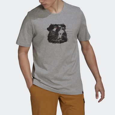 T-shirt Five Ten Glory Grigio Uomo Five Ten