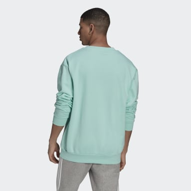 Men Originals Turquoise Graphic Crew Sweatshirt