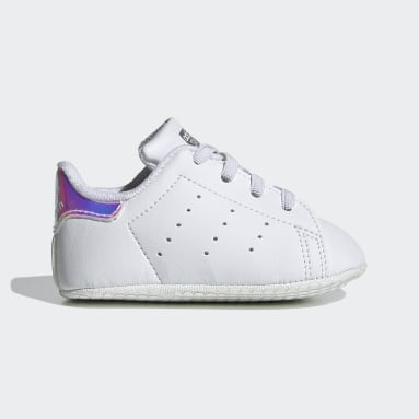 Barn Originals Vit Stan Smith Crib Shoes