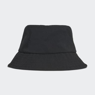 Sport Inspired สีดำ หมวกปีกรอบทรงคลาสสิก