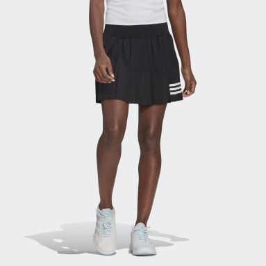 Dam Tennis Svart Club Tennis Pleated Skirt