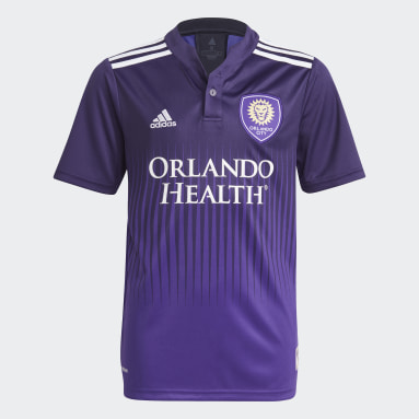 Youth Soccer Purple Orlando City 21/22 Home Jersey