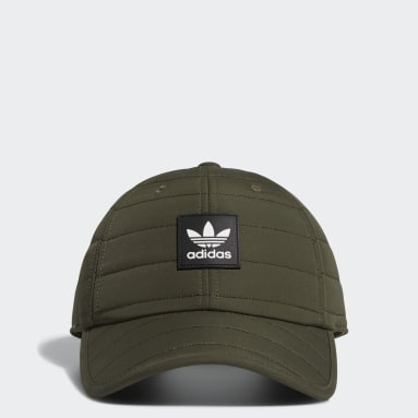 Casquette Quilted Relaxed vert Hommes Originals