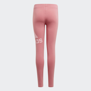Girls Sport Inspired Pink adidas Essentials Tights