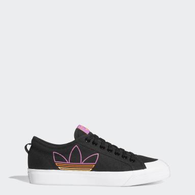 Sapatos Trefoil Nizza Preto Originals