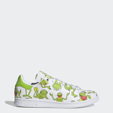 Men Originals Green Stan Smith Shoes
