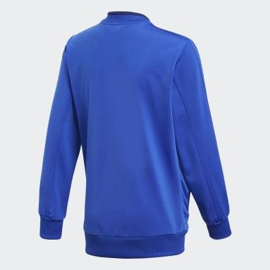 Chaqueta Condivo 18 Azul Niño Gimnasio Y Entrenamiento