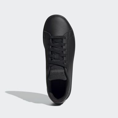 Kids Sport Inspired Black Advantage Shoes