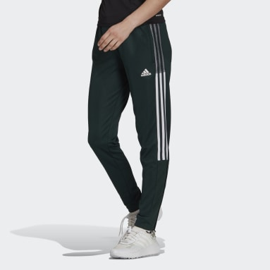 Women's Soccer Green Tiro Track Pants