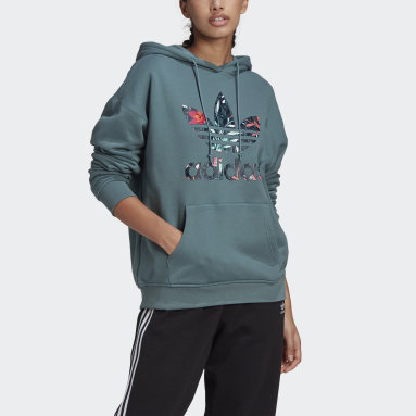 Women Originals Green HER Studio London Hoodie