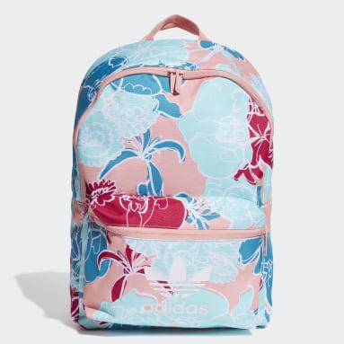 Women Originals Multicolour Classic Flower Backpack