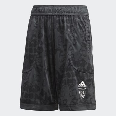 Shorts D.O.N. Issue #2 (UNISEX) Gris Niño Basketball