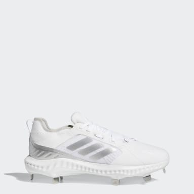 Women's Softball White PureHustle Cleats