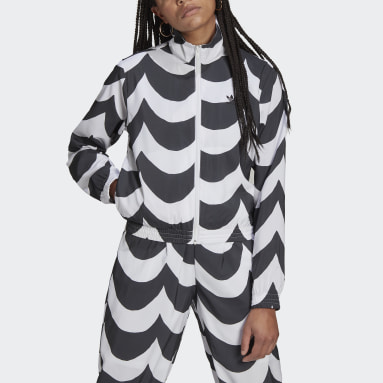 Women Originals Black Marimekko Woven Track Jacket