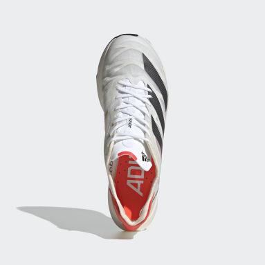 Running White Adizero Adios Pro 2.0 Shoes