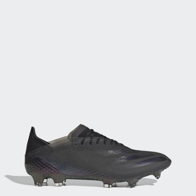 Chaussure X Ghosted.1 Terrain souple noir Hommes Soccer