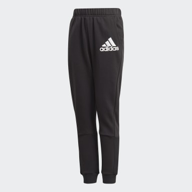 Youth 8-16 Years Gym & Training Black Badge of Sport Joggers