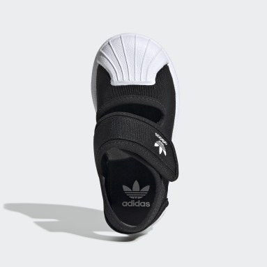 Děti Originals černá Sandály Superstar 360