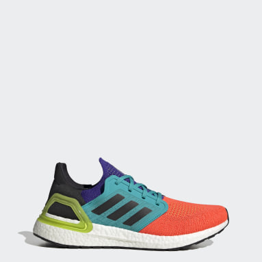 Men Running Orange Ultraboost 20 Shoes