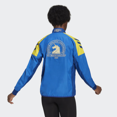 Women's Running Blue Boston Marathon® Celebration Jacket