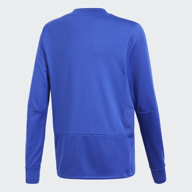 Kinderen Fitness En Training Blauw Condivo 18 Player Focus Training Longsleeve