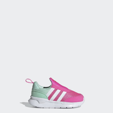 Infants Originals Pink ZX 360 Shoes