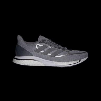 Running Grey Supernova+ Shoes
