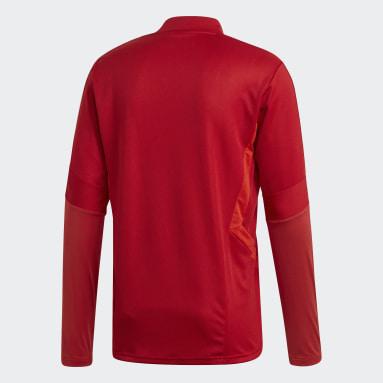 Heren Fitness En Training Rood Tiro 19 Training Sweater