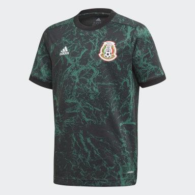 Jersey Prepartido Selección Nacional de México Verde Niño Fútbol