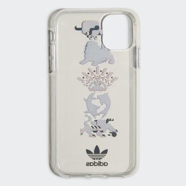 Originals bílá Pouzdro Clear CNY iPhone 11