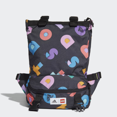 Girls Gym & Training Multicolour adidas x LEGO® DOTS™ Graphic Convertible Bag