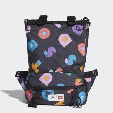 Dívky Cvičení A Trénink vícebarevná Taška adidas x LEGO® DOTS™ Graphic Convertible